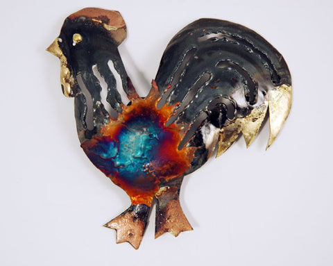 Recycled Tin Cockerel