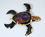 Recycled Tin Turtle - Medium