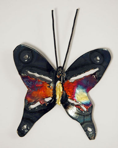 Recycled Tin Butterfly small