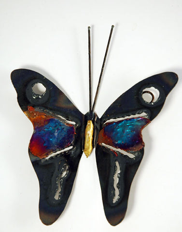 Recycled Tin Butterfly medium