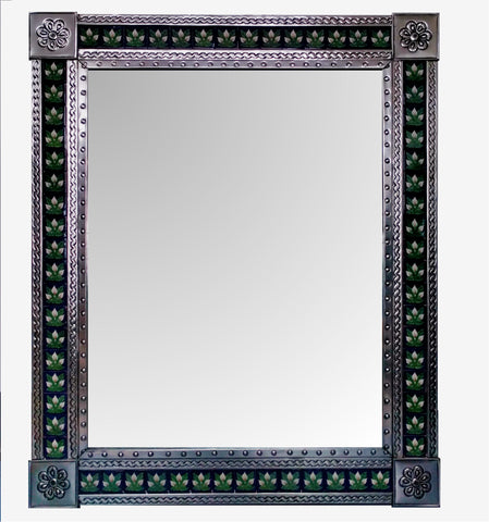 Beautiful Tiled Mirror (110 x 90cm)