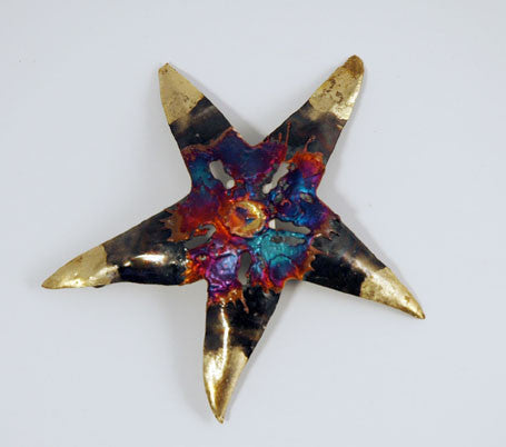 Recycled Tin Starfish