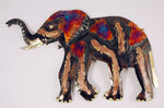 Recycled Tin Elephant large