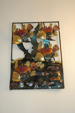 Recycled Tin Acuario - Small