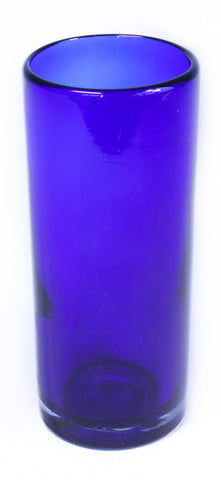 Blue Tall / Hi-Ball Recycled Glass