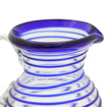 Blue Spiral Small Jug (1 litre)