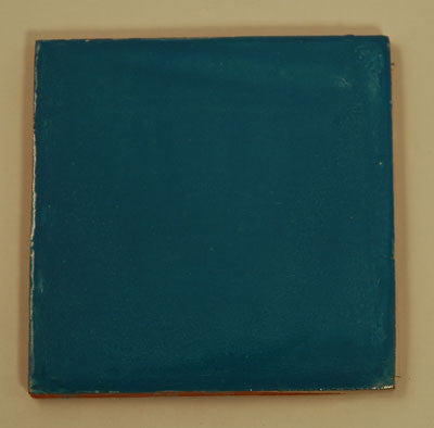 Hand Painted Tile - Light Blue