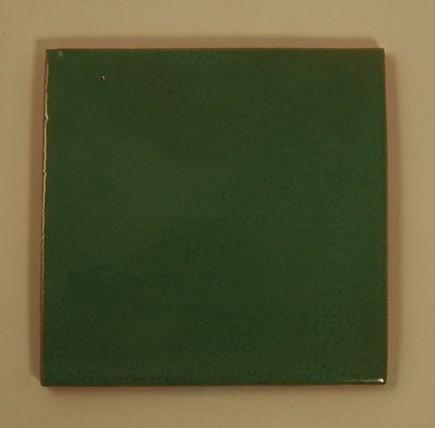 Hand Painted Tile - Olive