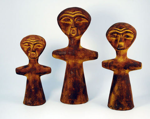 Set of 3 figures