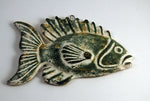 Fish Plaque - Green
