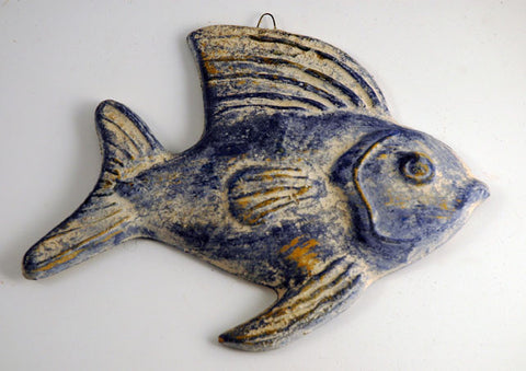 Fish Plaque - Blue