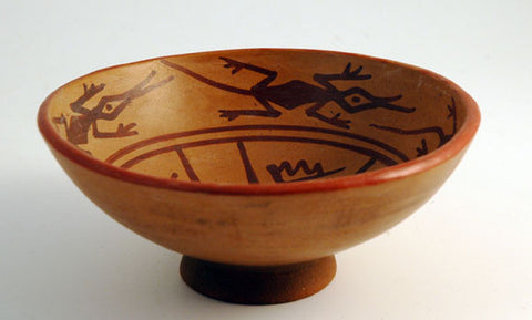 Karchi naive pottery bowl small
