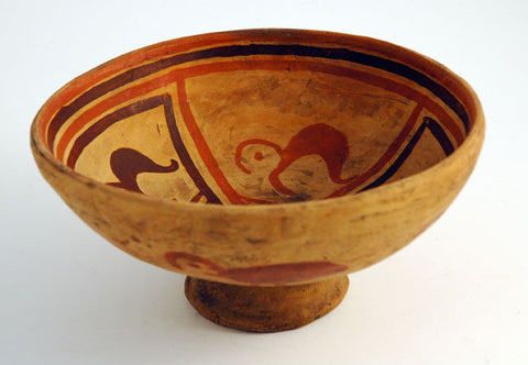 Karchi naive pottery bowl large