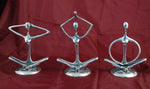 Aluminium Yoga figures 3 styles - Sold Individually
