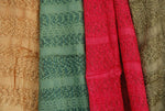India flag scarf 60% silk single colour