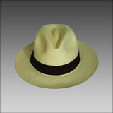 Tumi Fino Fedora - Natural & Brown band