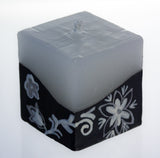 Hand-painted Cube Candle (5x5cm)