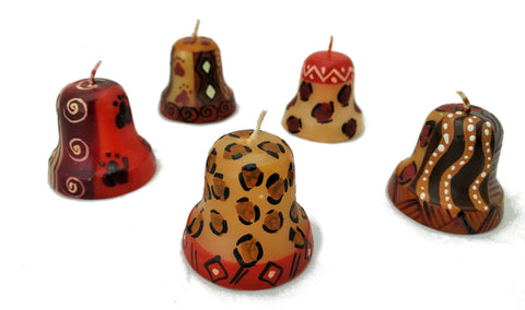 Hand-painted Bell Candles (4cm)