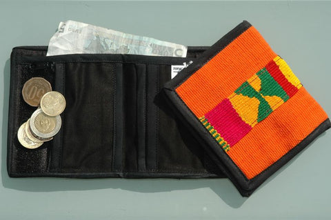Toto cotton wallet