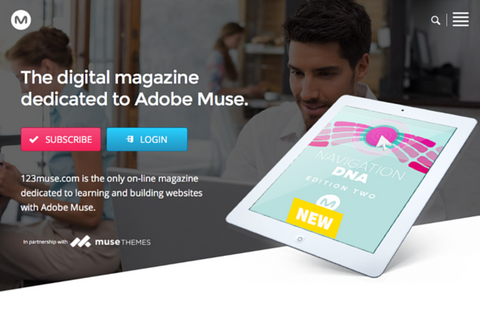 123muse: The Adobe Muse User Magazine, United Kingdom