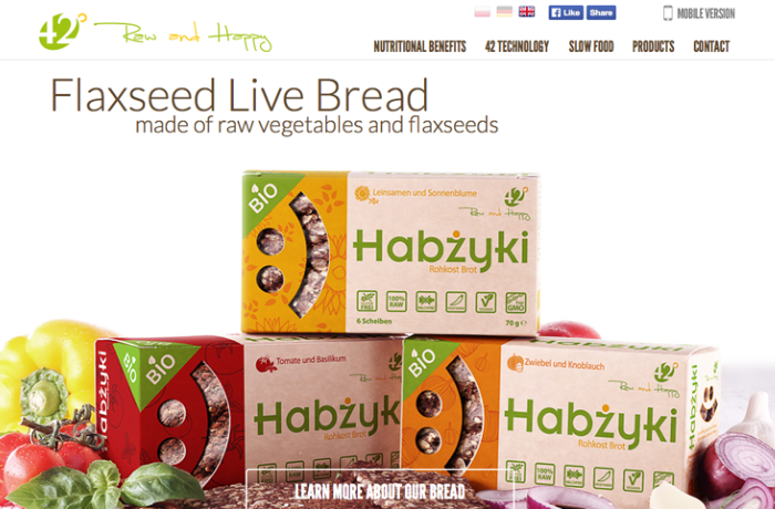Flaxseed Live Bread, Poland