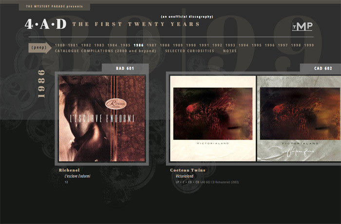 4AD: The First Twenty Years, United States