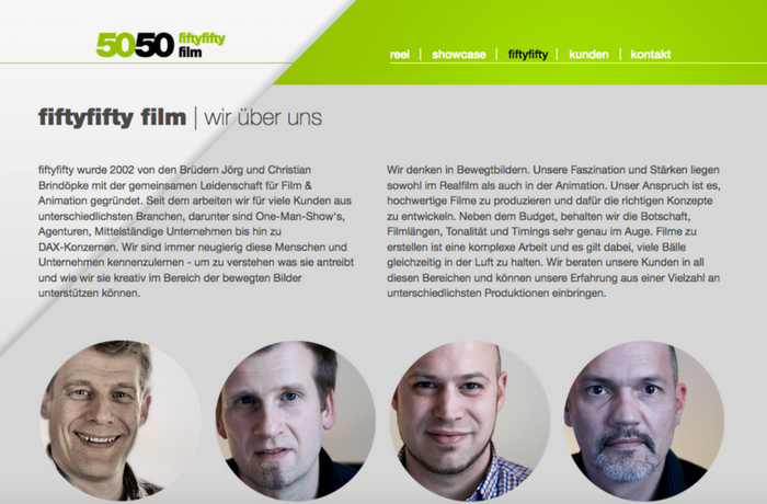 5050 Film and Animation, Germany