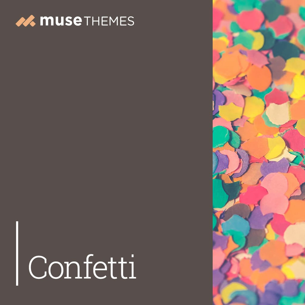 Confetti Adobe Muse Widget
