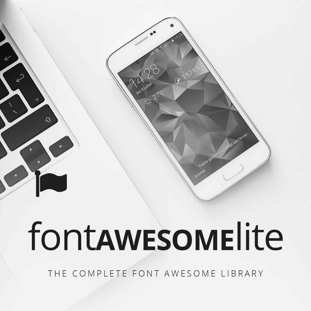 Font Awesome Lite