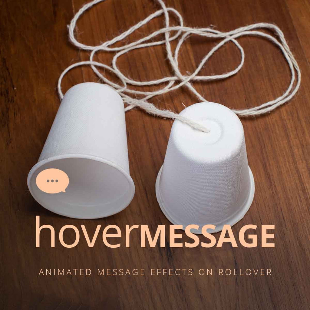 Hover Message