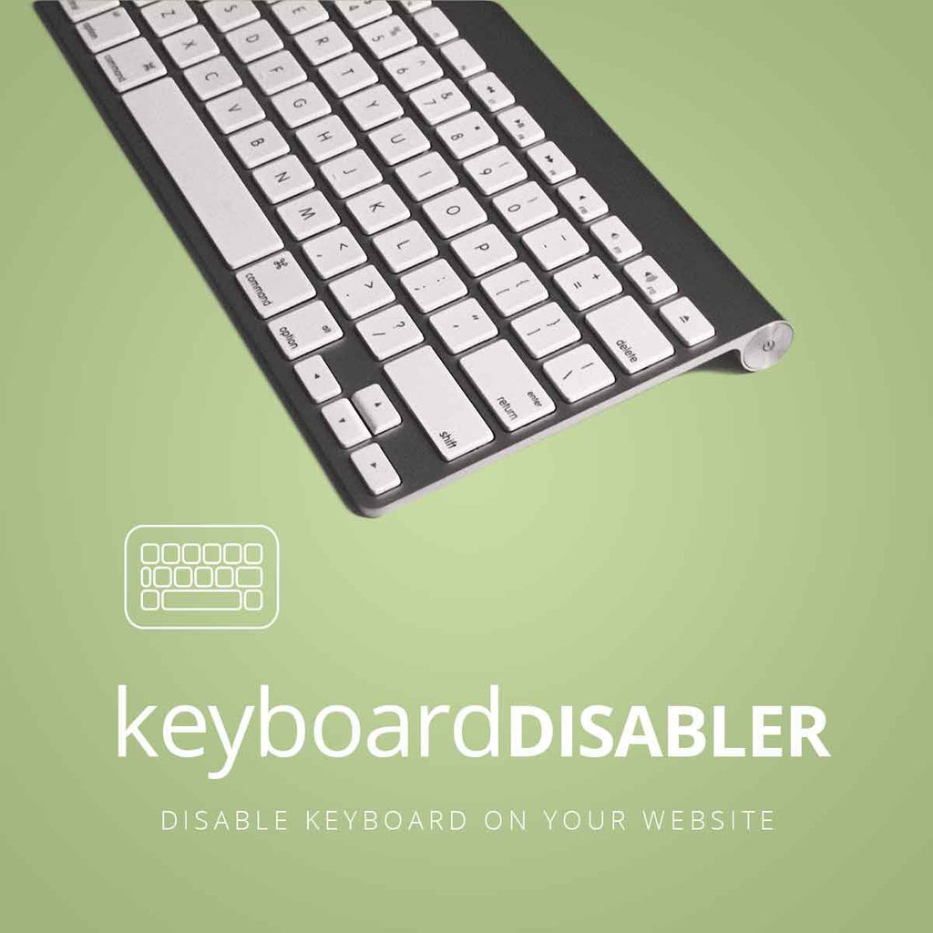 Keyboard Disabler
