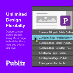 Adobe Muse Gallery