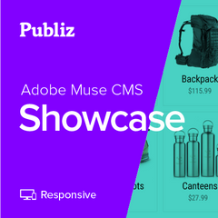 Adobe Muse Showcase