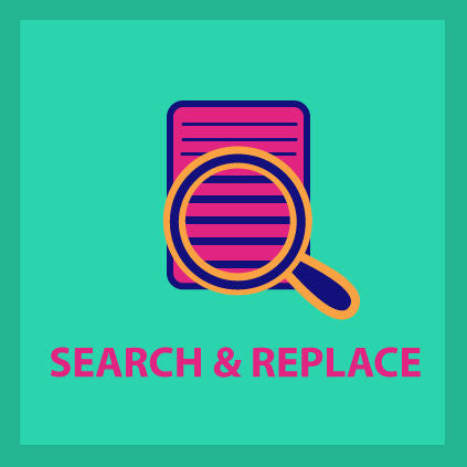 Search & Replace