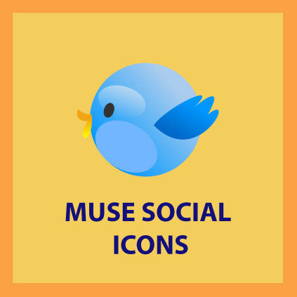 Muse Social Icons