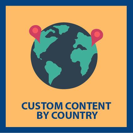 Custom Content by Country