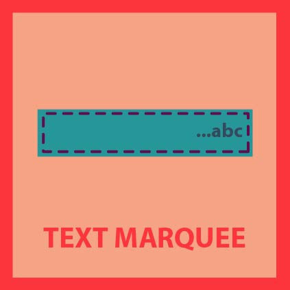 Text Marquee