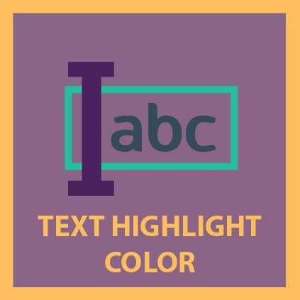 Text Highlight Color