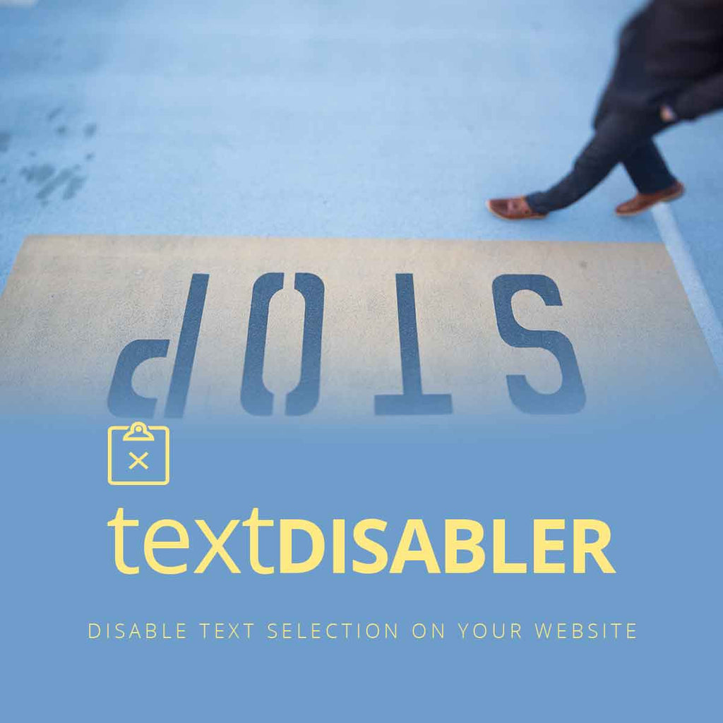 Text Disabler