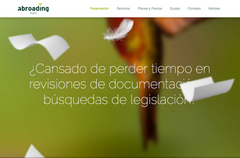 Abroading Website, Spain