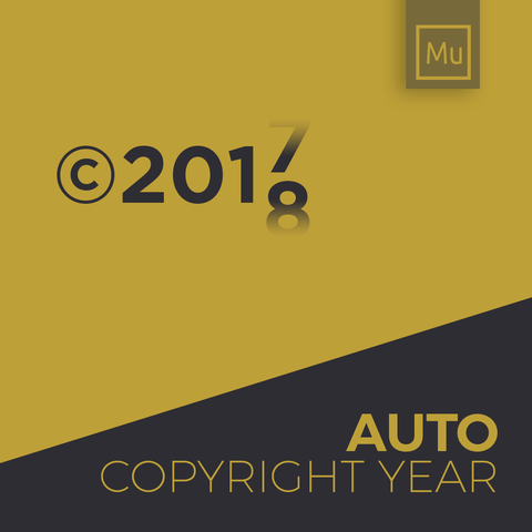 Auto Copyright Year Update