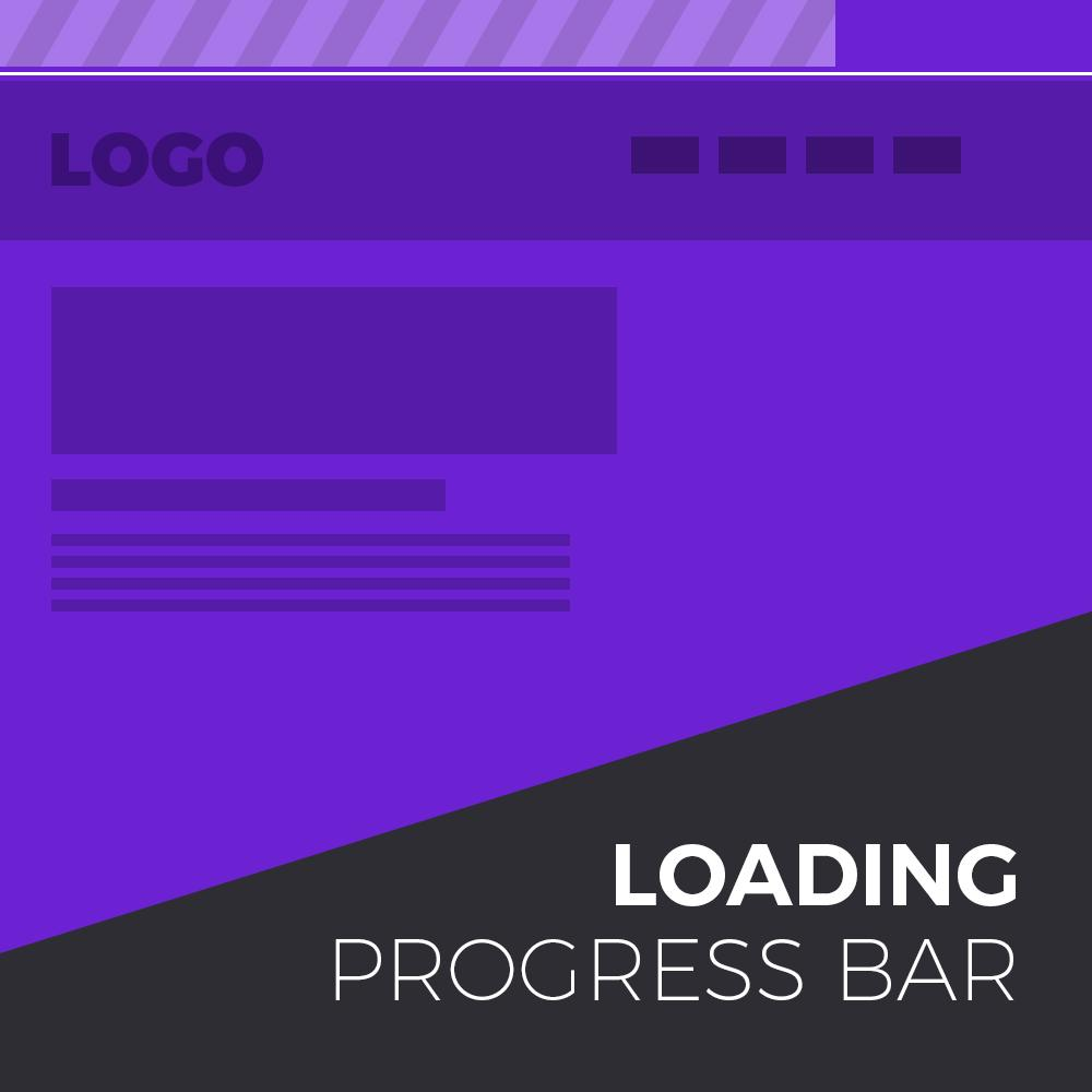 YouTube Style Loading Bar Widget For Adobe Muse