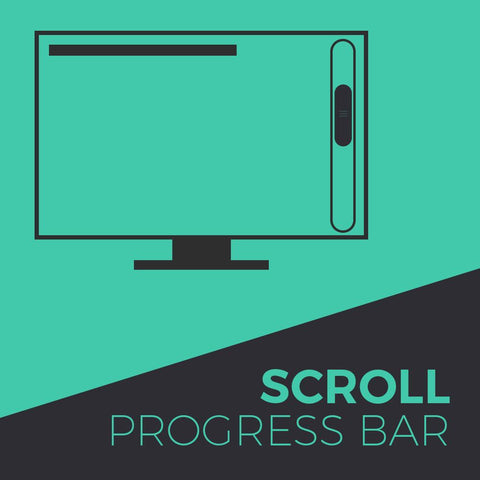 Scroll Progress Bar Widget