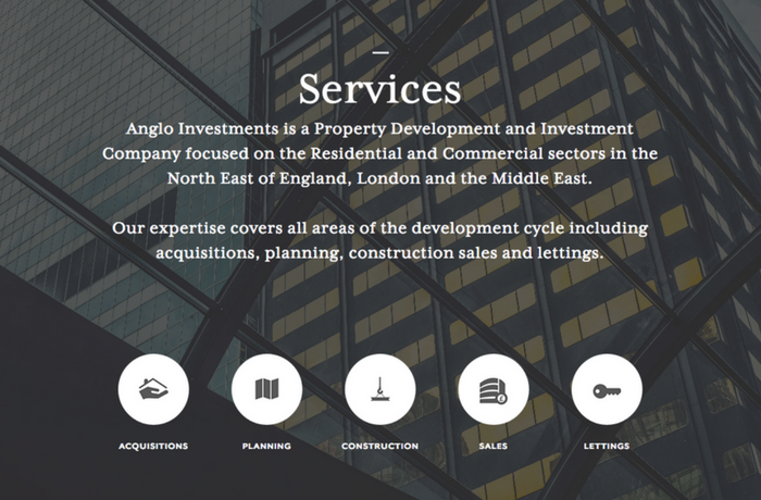 Anglo Investments, United Kingdom