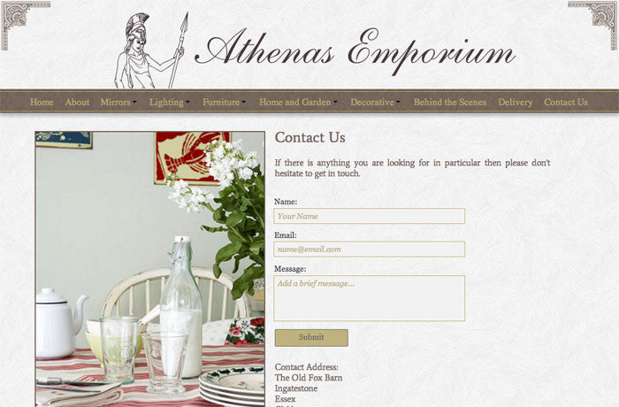 Athenas Emporium, United Kingdom