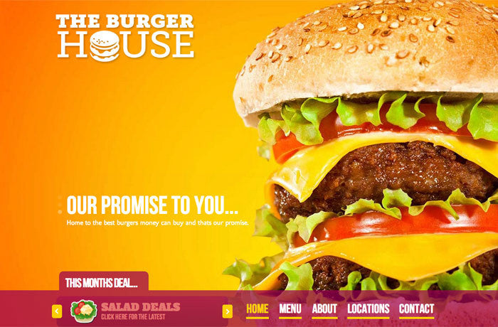 Burger House Theme, United States