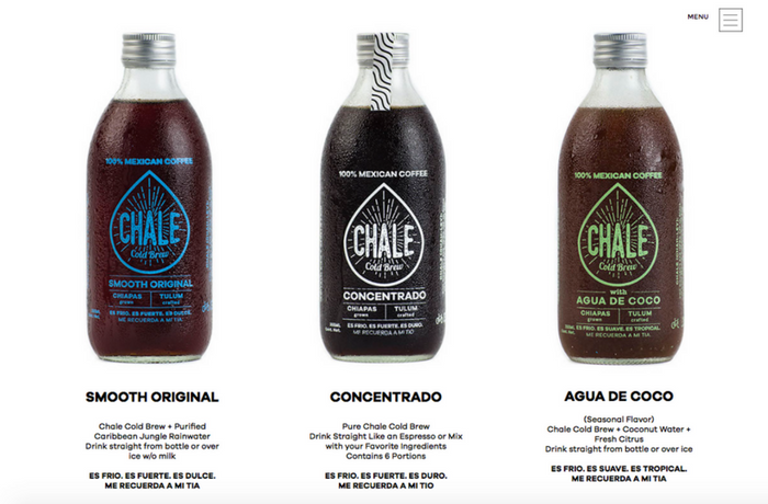 Chale Cold Brew, Mexico