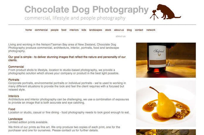 Chocolate Dog Photography, New Zealand
