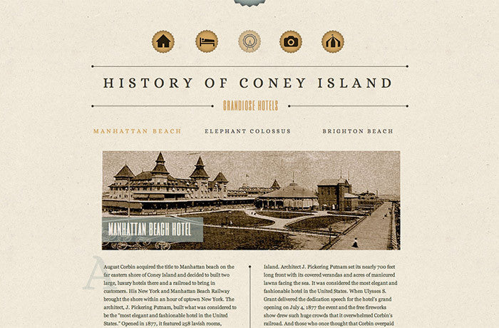 History of Coney Island, United States