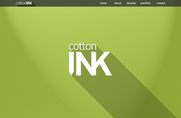 Cotton Ink: Freelance Designer & Photographers Site, United Kingdom